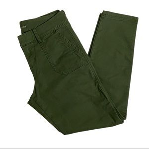 Old Navy Green Pixie Pants Size 0